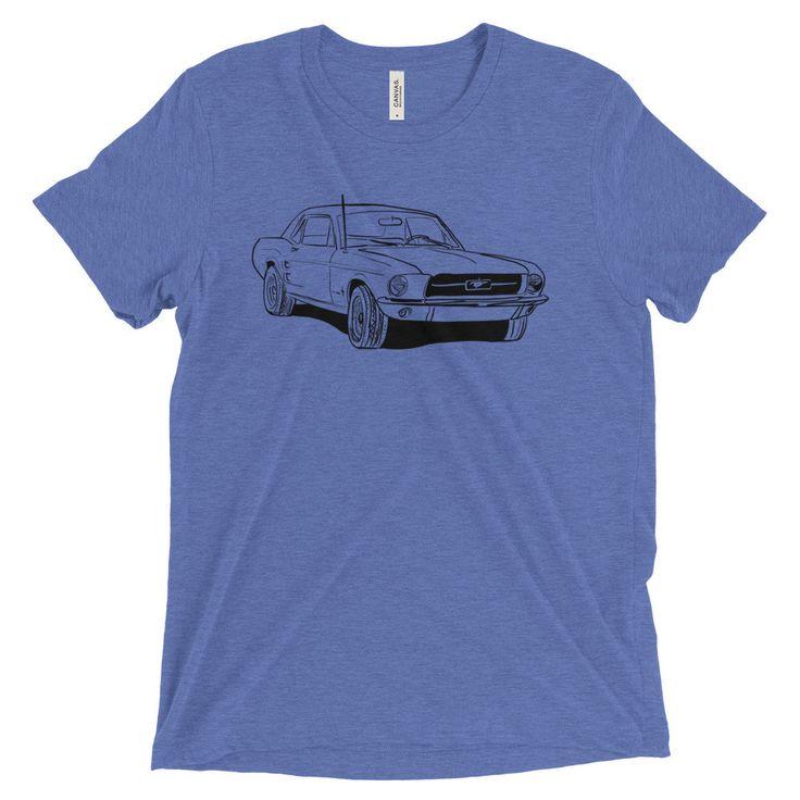 67' Mustang Short sleeve t-shirt