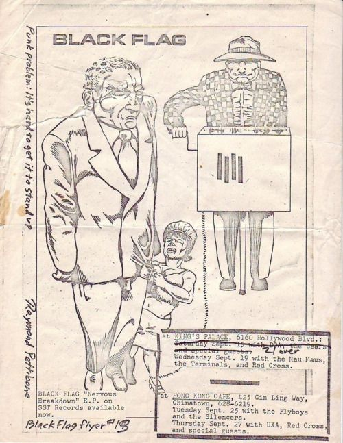 Black Flag Flyer September 1979
