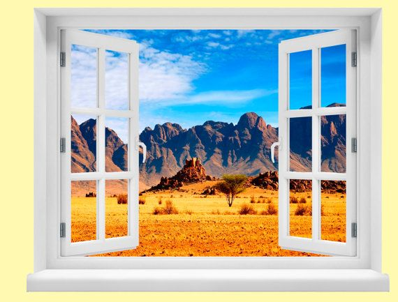 Window with a View African Savannah