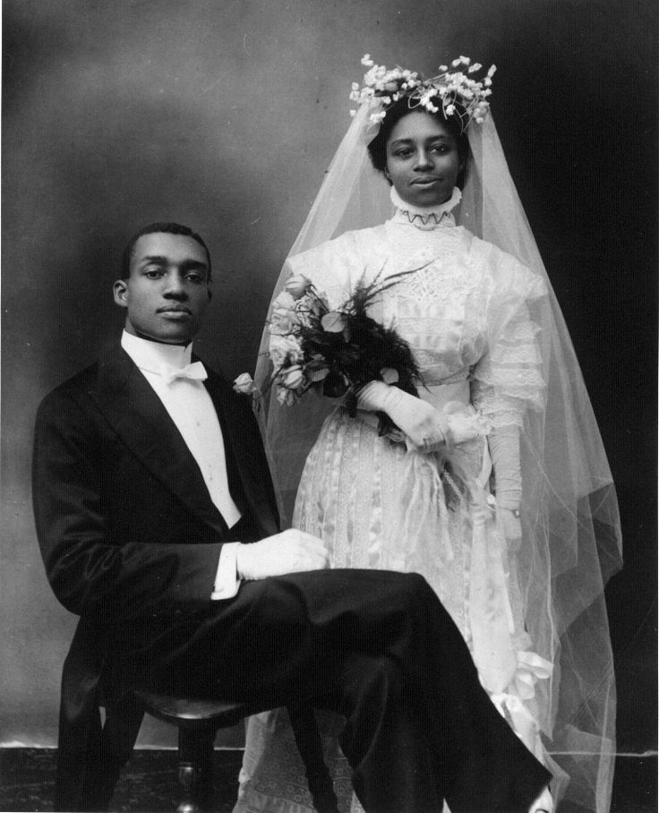 African American marriage.