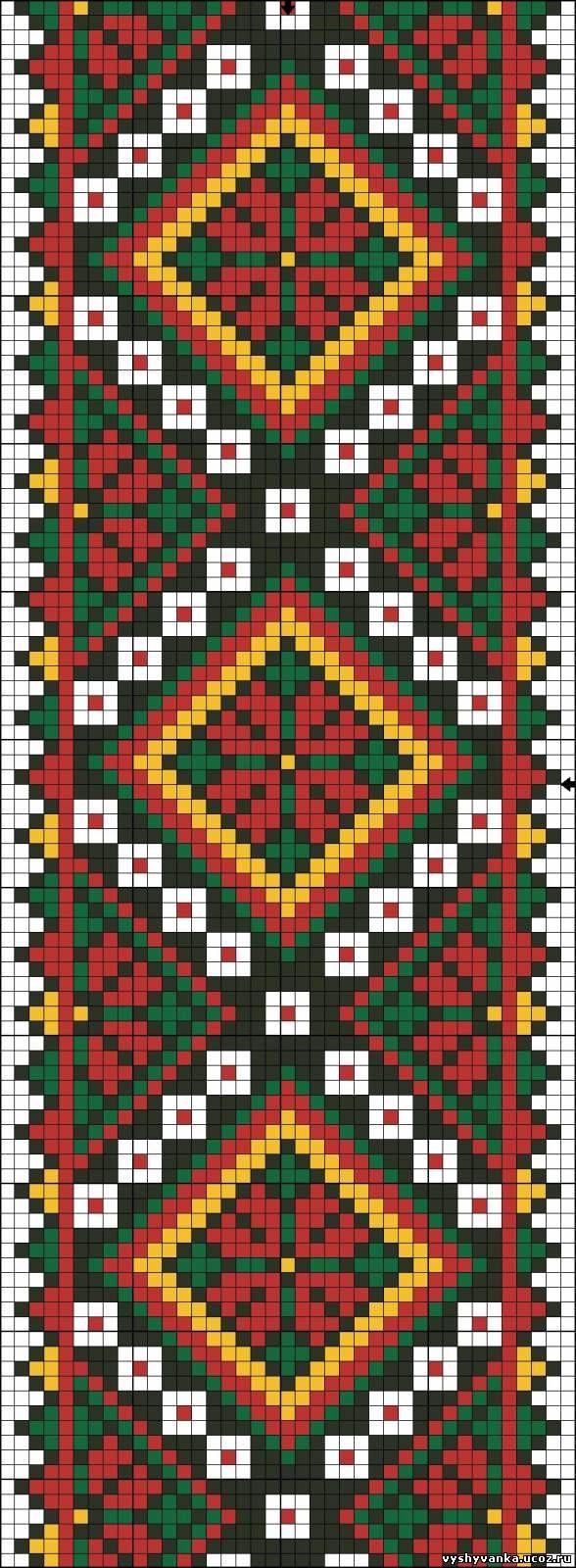 вышиванка орнамент - Поиск в Google