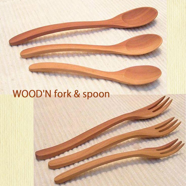 木のぬくもりとやさしさを家庭の食卓へ!  WOOD'N フォーク & スプーン   口あたりが良く心地もいい。  家庭用食器洗浄機もOK!  S、M、Lの3サイズをご用意しております。    http://kanden43.tokyo/SHOP/118805/122635/list.html  #WOODN #フォーク #スプーン #カトラリー #キッチン用品 #キッチン雑貨 #ナチュラル #ナチュラル雑貨 #ナチュラル系 #セレクトショップ