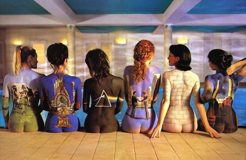 Pink Floyd Album Cover - I have a subway print of this hanging on my wall in the loft. It can be quite the conversation piece for the gentleman.