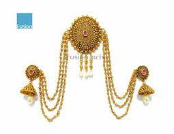 Image result for maharashtrian bride hair jewellery