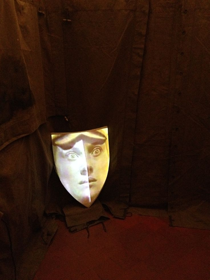 """An intriguing surprise that I found when I was visiting this small prison museum in Ripon. This is Louise Marchals """"Noble Bloods"""" installation"""
