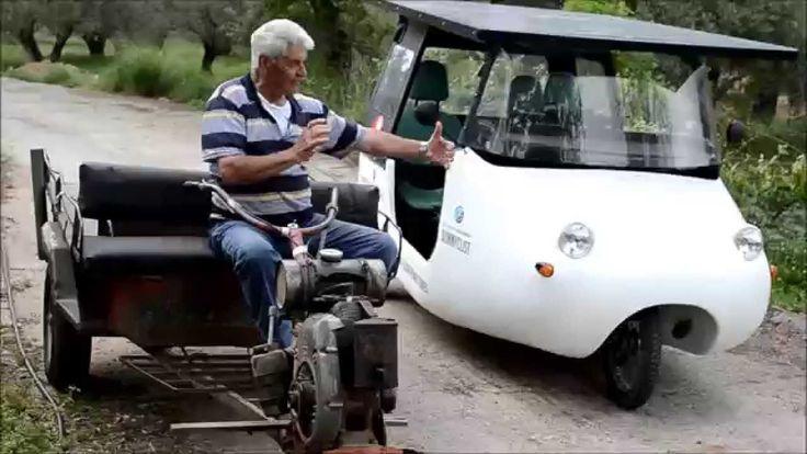 SUNNYCLIST - Το ηλιακό όχημα της Κρήτης