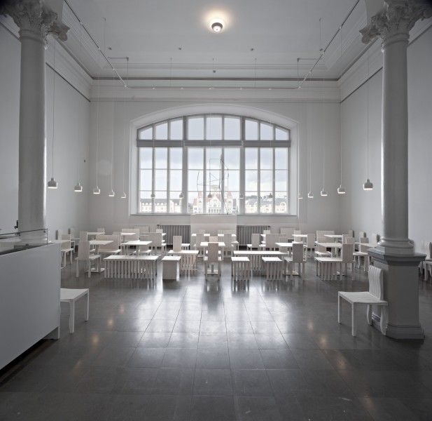 Artek - Projects - Contract Projects - Cafe Cubus Ateneum, Helsinki Finland