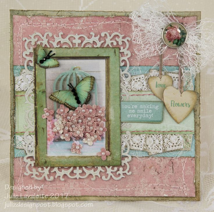 Hi everyone, today I am sharing some more inspiration for my DT post with Cherish The Memory, using their exquisite Vintage Line, how I...