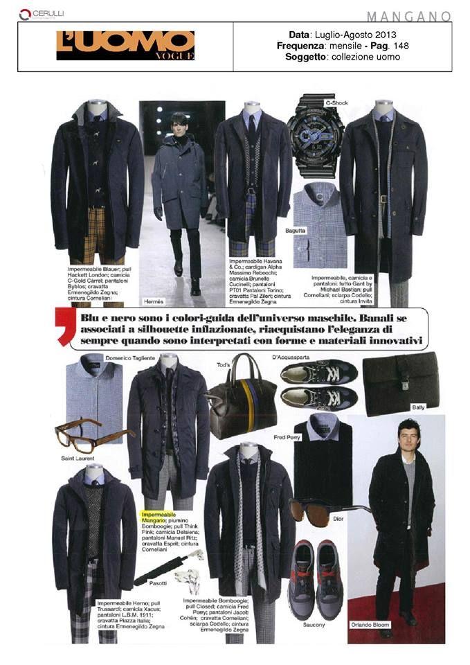 Mangano on L'Uomo Vogue