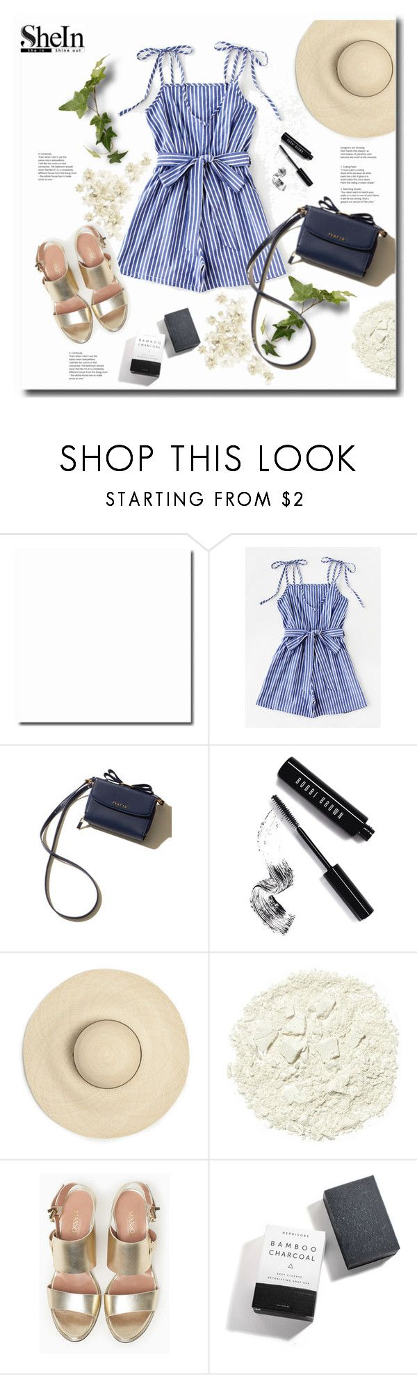 """WIN SHEIN $30 COUPON"" by kts-desilva ❤ liked on Polyvore featuring Bobbi Brown Cosmetics, Illamasqua, Max&Co. and Herbivore"