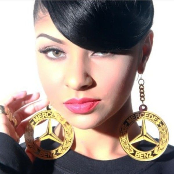 1000 images about bling ghetto fab jewelry on pinterest for Mercedes benz earrings