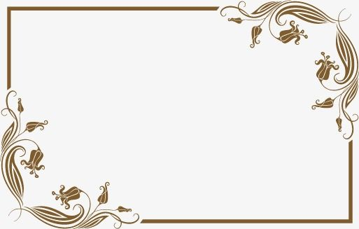 European Border Frame Continental Shading European Vector Png Transparent Clipart Image And Psd File For Free Download Floral Poster Camera Logos Design Vector Border