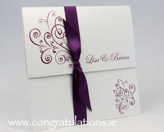 "The ""Finesse"" Wedding Stationery Collection"