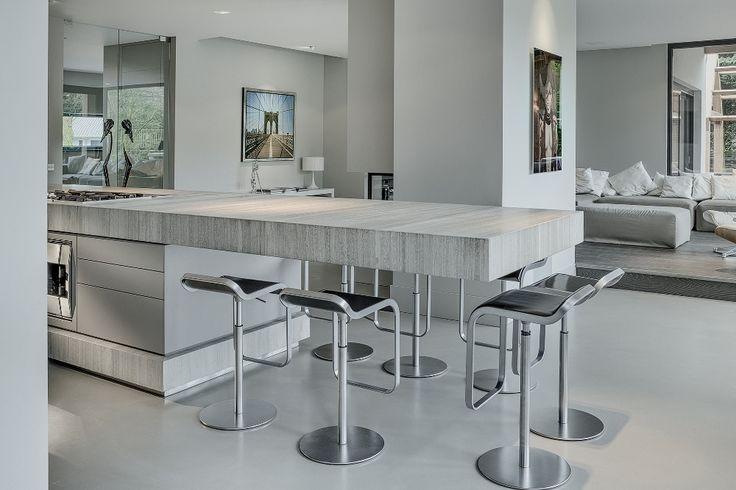 1000 idee n over kookeilanden op pinterest keuken idee n keuken opstellingen en keukenkasten - Open keuken met kookeiland ...