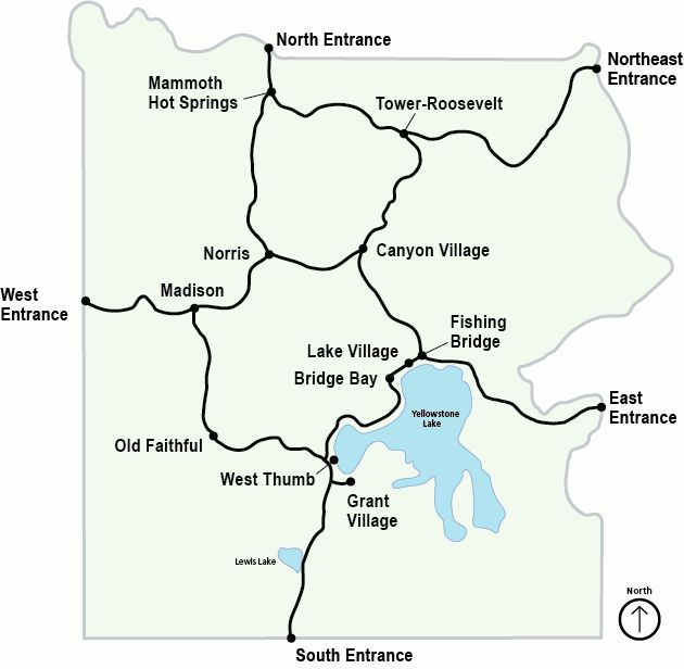 21 best images about Yellowstone National Park Maps on Pinterest Parks Int