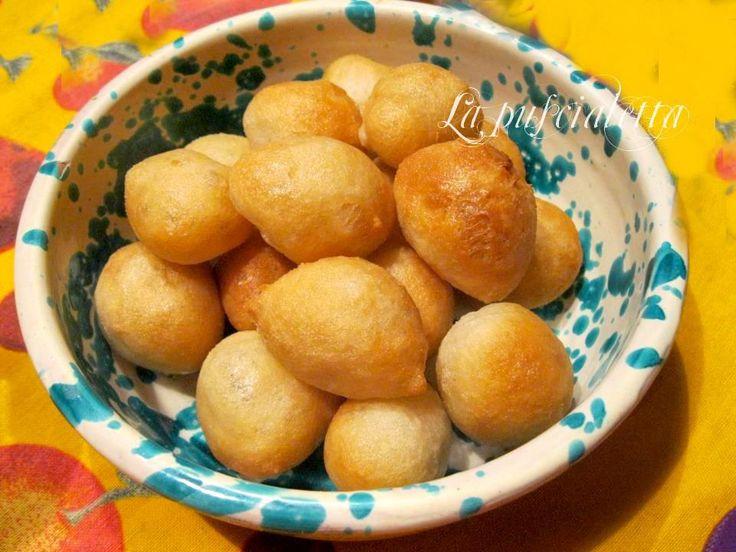 ricetta facile pettole fritte palline sfiziose di pasta lievitata pettole fritte pettole vari gusti