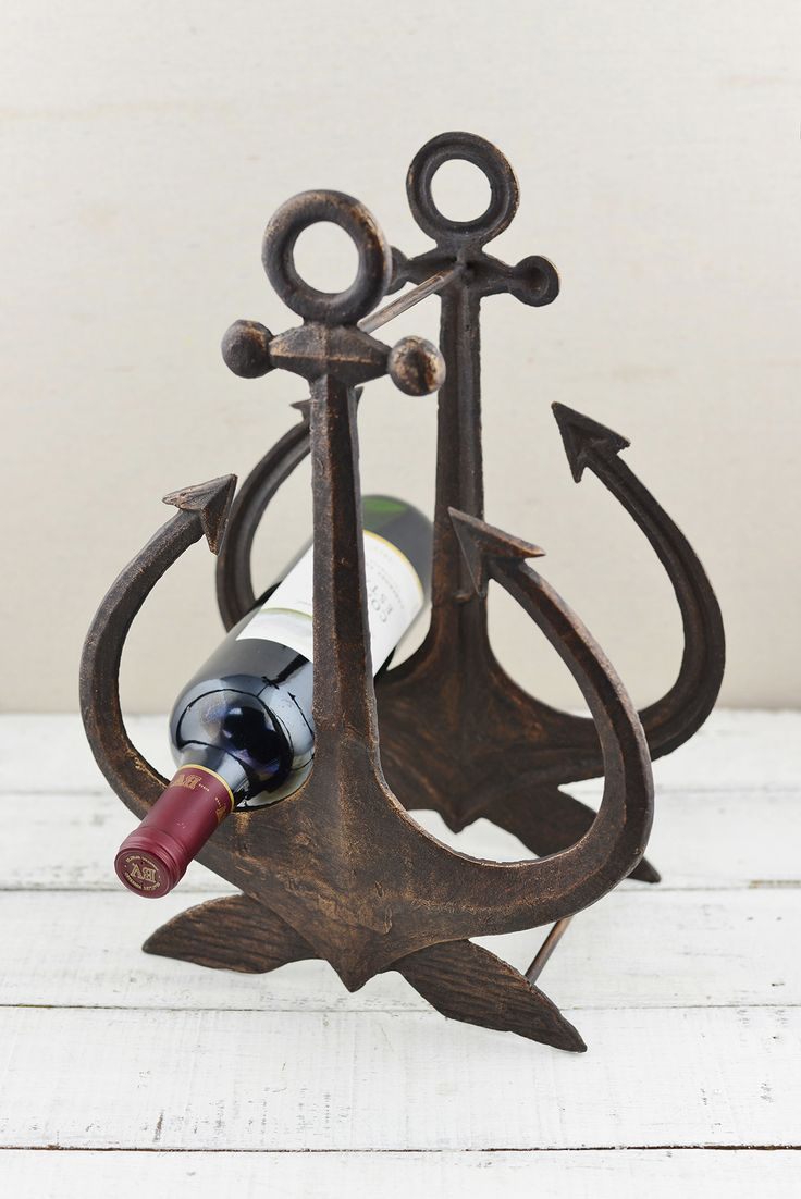 25 best ideas about nautical kitchen wine racks on pinterest beach style wine racks nautical - Wine rack shaped like wine bottle ...