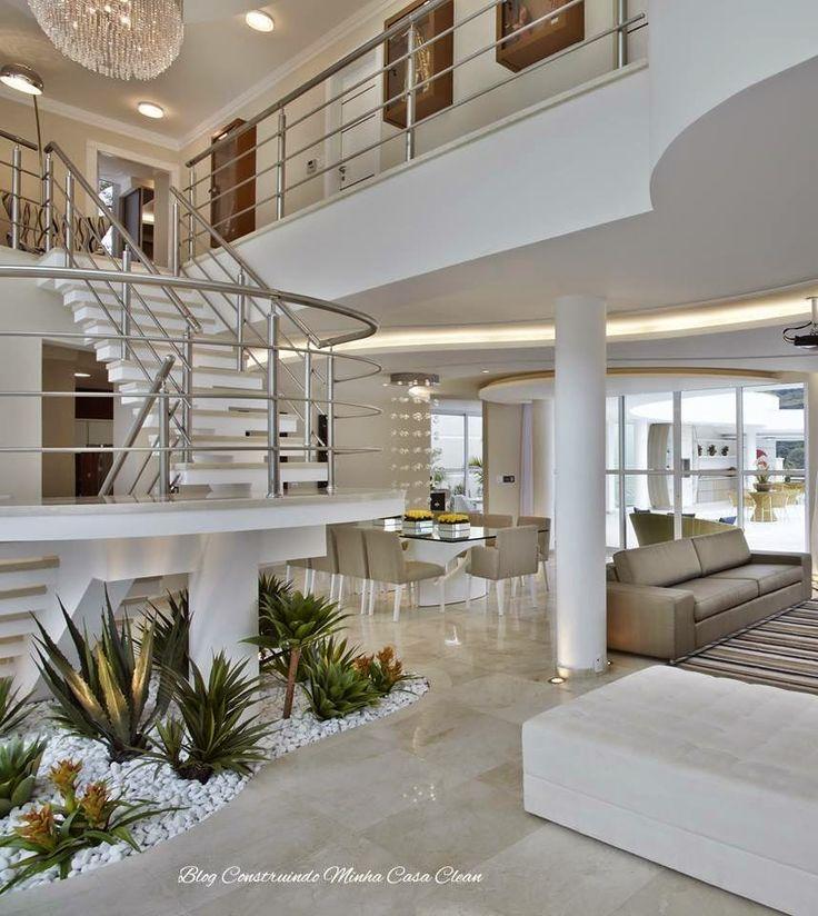 Interiores de lujo casa decoracin de interiores - Interiores de lujo ...