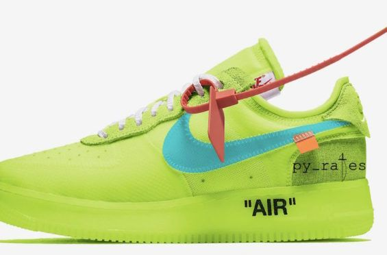 timeless design 02b55 2eba8 ... best price a volt colorway of the off white x nike air force 1 low  expected