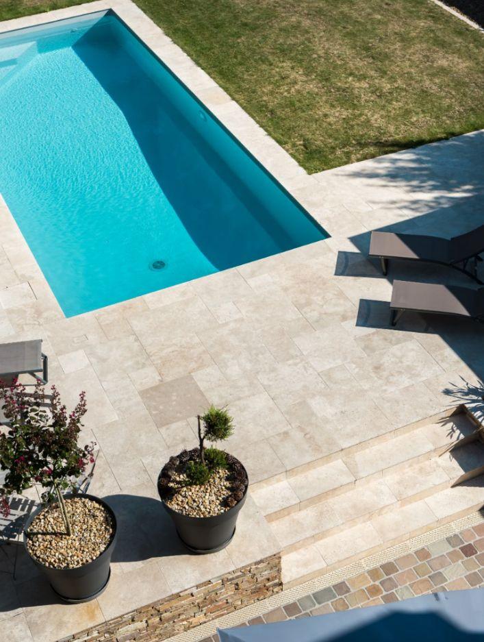 Projet de terrasse et piscine à Cholet