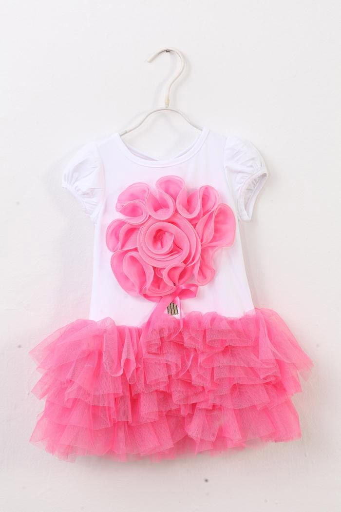 Pink Flower Bouquet Tulle Outfit · Ellie Baby Boutique · Online Store Powered by Storenvy