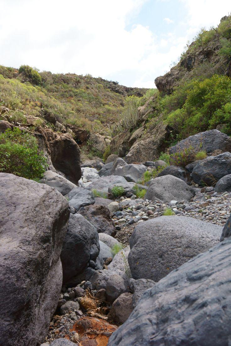 A barranco near to Roque Imoque / Tenerife