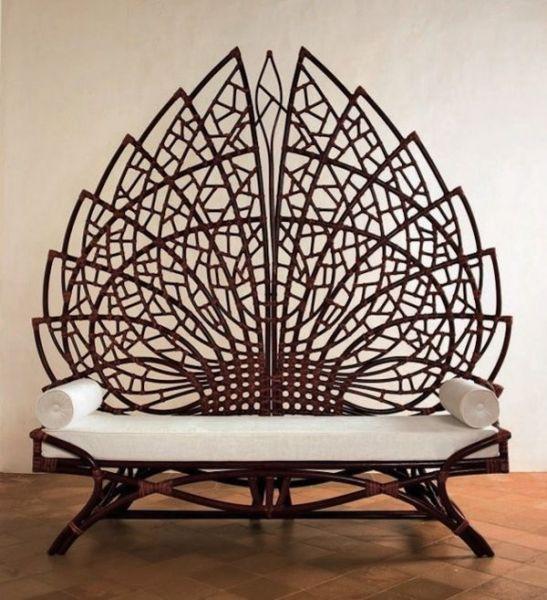 Роскошная скамейка-трон Ethuil