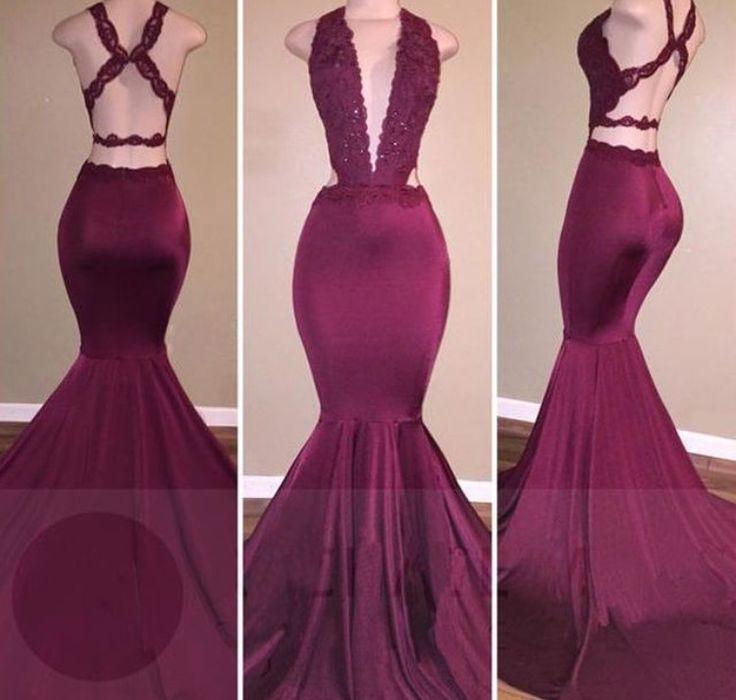 Mejores 61 imágenes de Prom en Pinterest | Vestidos de baile largos ...
