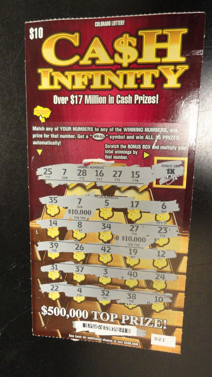 Lloyd S. played Cash Infinity Scratch and won $50,000! He bought it at Loaf N'…