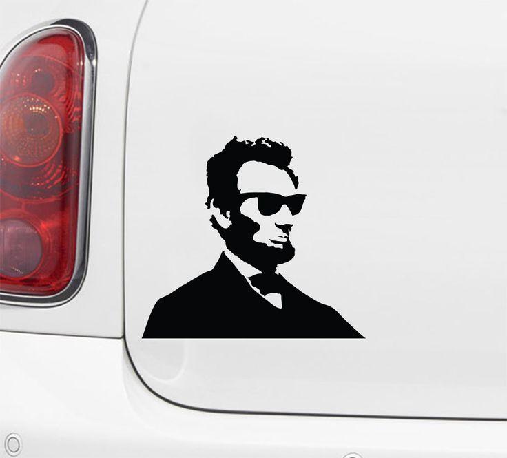 Car cool abe car vinyl decal sticker yydc 6w x 5 5