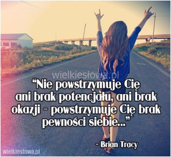 Nie powstrzymuje Cię ani brak potencjału…