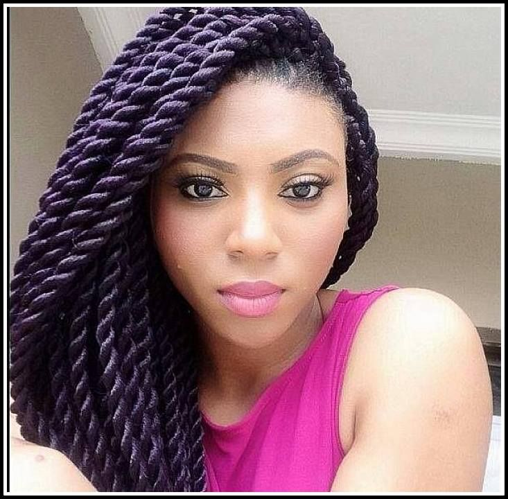 Hairstyle For Women - Half-Updo with Long Freely-Hanging Braids