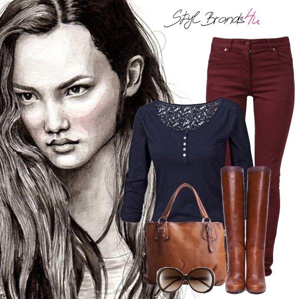 Dámy čo tento outfit ako inšpirácia na víkend ... :) Páči ... :) #fashion #outfit #moda