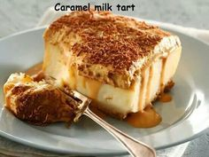 Caramel milk tart