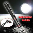 Mini Led Torch Light Survival Flashlight Keychain Lamp Camping Self-Defense Tool