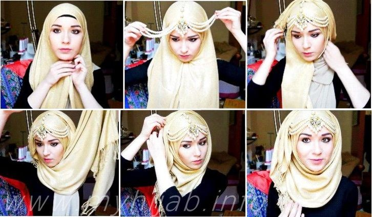Jeweled Hijab Tutorial