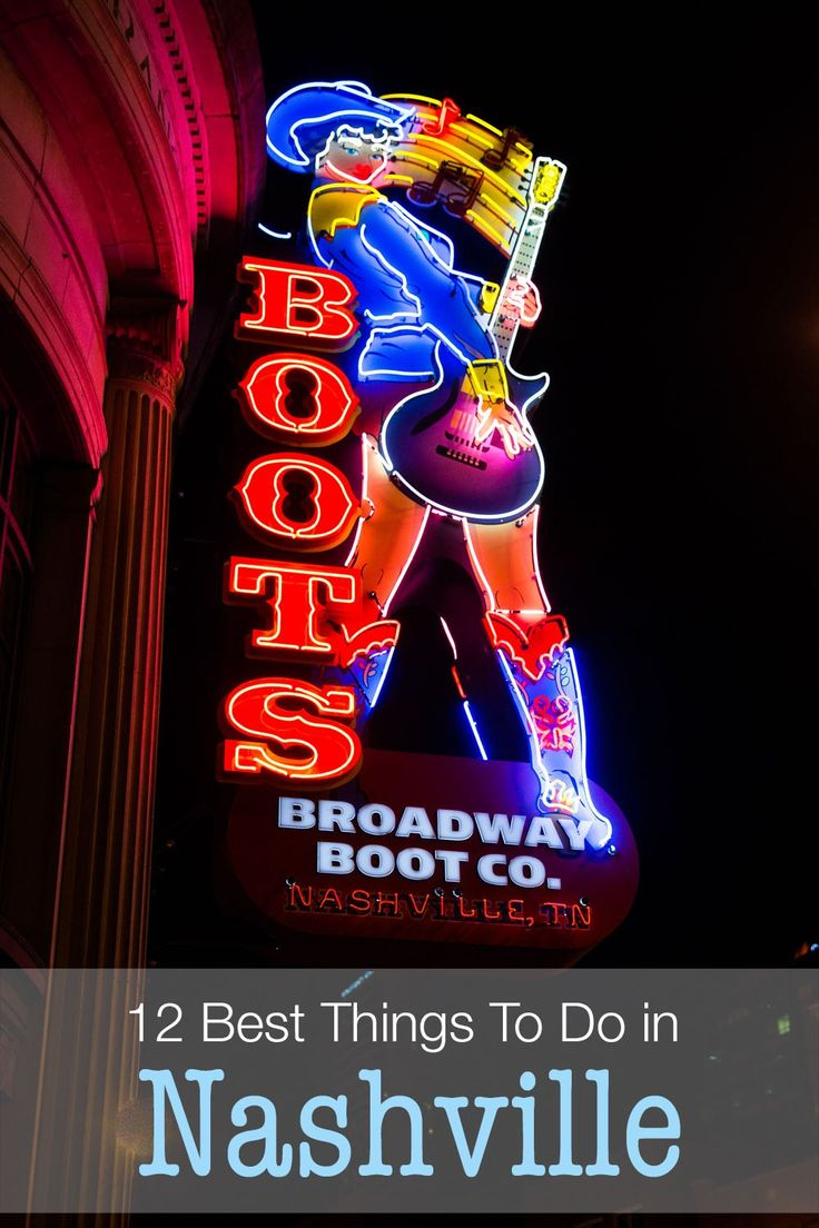 12 best things to do in Nashville, Tennessee. Bluebird Cafe, Ryman Auditorium, RCA Studio B, Country Music Hall of Fame, Franklin, and more. Nashville makes a great weekend destination!