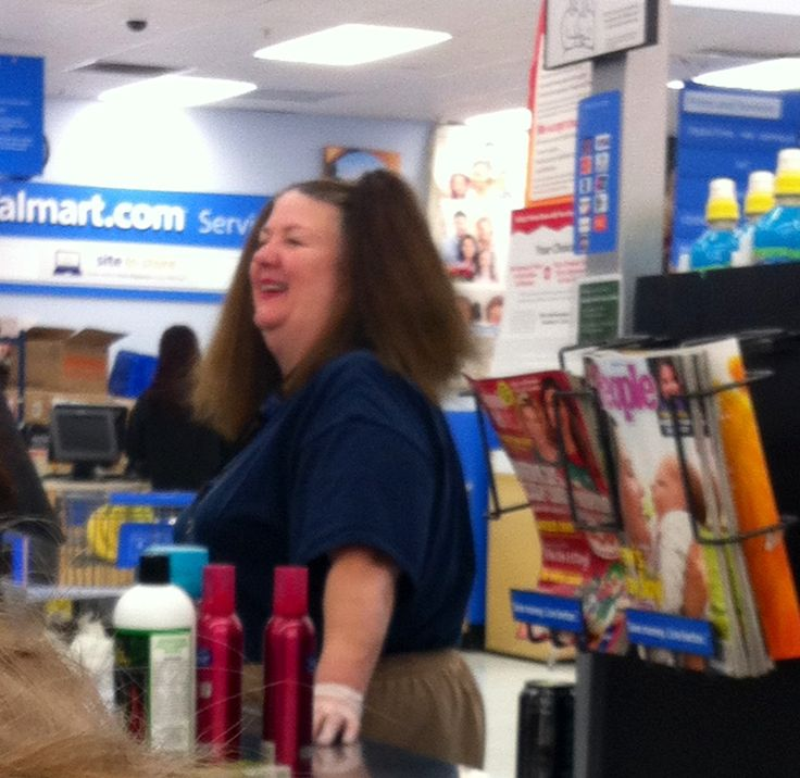 Meanwhile in Walmart!!!pigtails.. exact height and length... er ma gerd