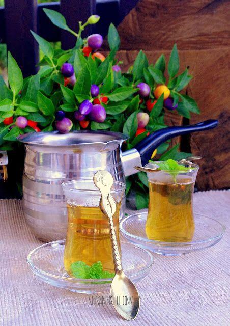 Herbata intensywnie miętowa
