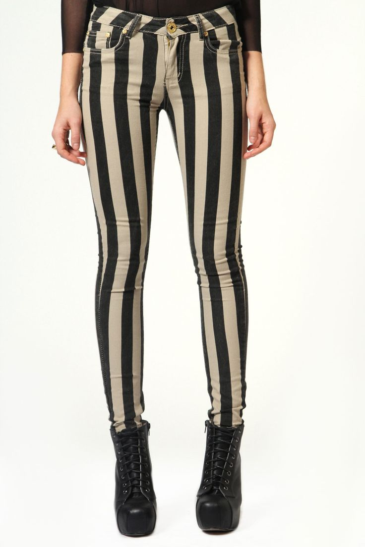 Lolita Thick Striped Skinny Jeans £10.00 (sadly it's not in my size for this color.)
