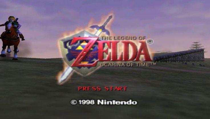 Resultado de imagem para legend of zelda main menu