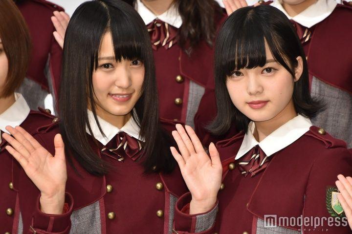 紅白出場が決定した欅坂46/菅井友香、平手友梨奈 (C)モデルプレス