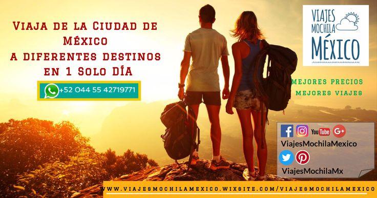 #ViajesMochilaMexico #Viajes #Tours #Promociones #Mochileros #PueblosMágicos #Descuentos #CDMX #México