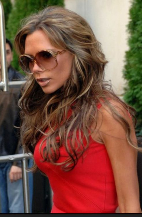 16 best hvem har hair extensions images on pinterest hair victoria beckham hair caramel highlights i want my hair like this pmusecretfo Image collections