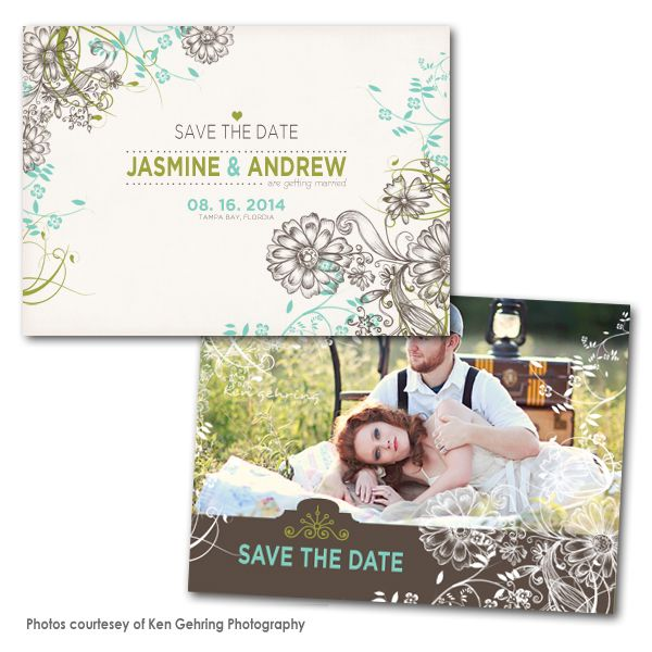 Best Save The Date Card Templates Images On   Card