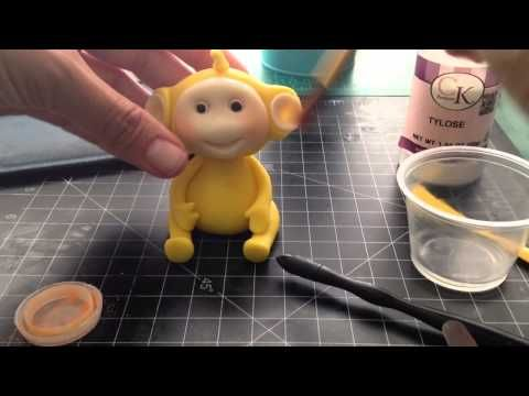 Fondant Teletubbies topper tutorial_A Cake Newbs tutorial - YouTube