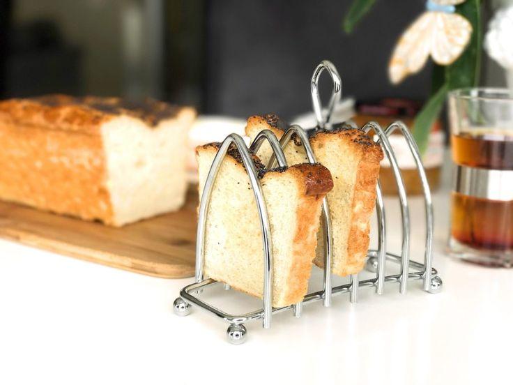 Glutenfritt rostbröd till frukost