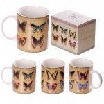 Mug en porcelaine tendre - Collection de papillons