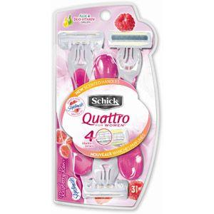 Schick Quattro for Women Disp Ultra Smooth, 3ct #walmart
