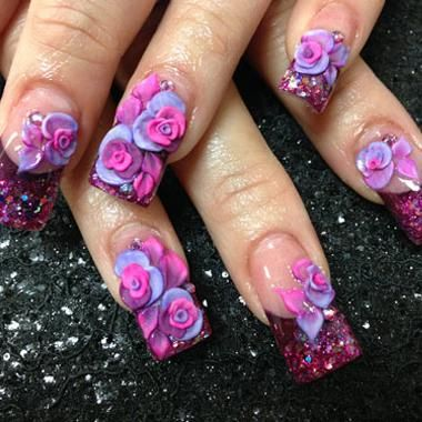 Here are 4 tips you must know about sculpting 3-D acrylic nail pieces!